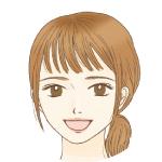 友里香ーほほえみ笑顔アイコン