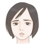 智子ー悲しそうアイコン